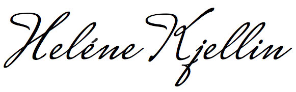 helene kjellin signature