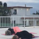 Yoga at the roof